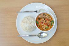 Free Thai Food Name Pa Nang Stock Images - 28947654