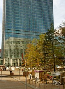 Free Canary Wharf. Stock Photos - 28948093