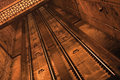 Free Rails In A Tunnel Royalty Free Stock Photography - 28950547