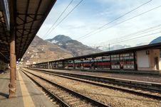 Free Bolzano Railway Station Royalty Free Stock Photos - 28951558