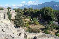 Free Pompeii Excavations Garden Stock Images - 28952094