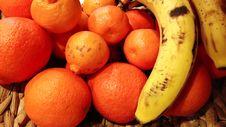 Free Oranges And Bananas Stock Photos - 28957263