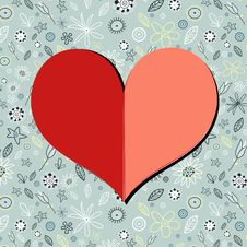 Free Paper Heart Royalty Free Stock Photography - 28957577