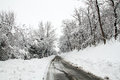 Free A Path In The Snow Stock Image - 28961721