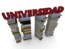 Free University Word Royalty Free Stock Image - 28960226