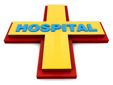 Free Hospital Sign Royalty Free Stock Photos - 28960298