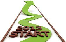 Free Start 2013 Stock Photo - 28960360