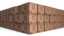 Free Cardboards Royalty Free Stock Photo - 28960455