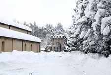 Rocca Delle Camminate Stock Photo