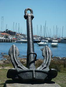 Free Punta Del Este Harbor Sculpture Royalty Free Stock Photos - 28963848