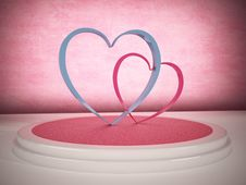 Free Pink Heart Stock Image - 28965911