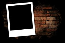 Free Photo Frames On Brick Wall Royalty Free Stock Images - 28967029