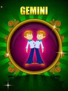 GEMINI Royalty Free Stock Photo
