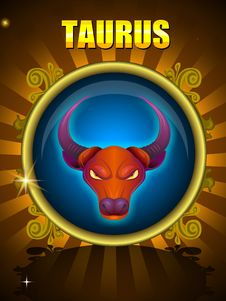 TAURUS Royalty Free Stock Photography