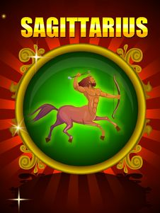 Free SAGITTARIUS Stock Image - 28967561