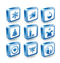 Free Christmas Icons Stock Photos - 28974313