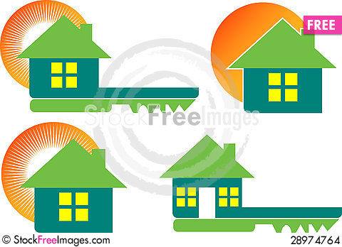 Free Home Collection Logos Stock Images - 28974764