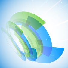 Free Blue And Green Abstract Background Stock Photos - 28972693