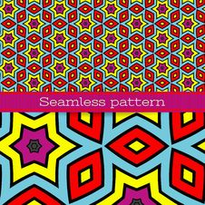 Free Vector Geometric Seamless Pattern Royalty Free Stock Photo - 28972735