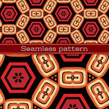 Free Vector Geometric Seamless Pattern Royalty Free Stock Photos - 28972748
