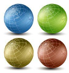 Free Isometric Earth Royalty Free Stock Photos - 28974088