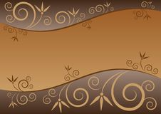 Free Elegant Floral Background In Horizontal Stock Photo - 28974440