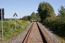 Free Train Tracks Royalty Free Stock Photo - 28977155