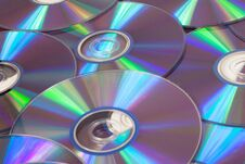 Free CD And DVD Stock Photography - 28978982