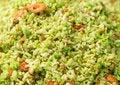 Free Green Rice With Shrimp Close-up Stock Photos - 28983483