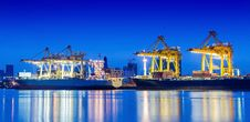 Free Industrial Container Cargo Royalty Free Stock Image - 28980896