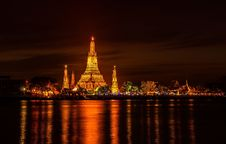 Free Wat Arun Historical Park Royalty Free Stock Photos - 28981268
