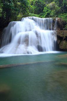 Free Deep Forest Waterfall In Kanchanaburi, Thailand Royalty Free Stock Photos - 28983048