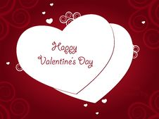 Free Valentine Day Greeting Royalty Free Stock Photo - 28983145