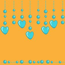 Free Valentines Garland Royalty Free Stock Images - 28983199