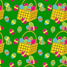 Free Easter Vector Seamless Royalty Free Stock Photography - 28983207