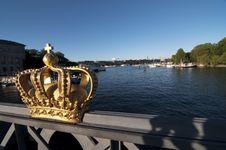 Free Golden Crown, Stockholm Stock Images - 28984024