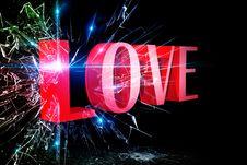 Love 3D Stock Photo