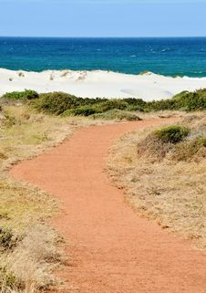Free Red Path Royalty Free Stock Photo - 28986155