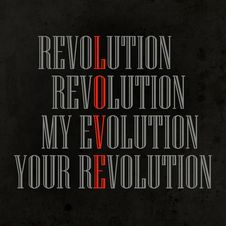 Free My Evolution, Your Revolution Royalty Free Stock Photo - 28987695