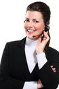 Free Young Beautiful  Woman Call Center Stock Photo - 28993890