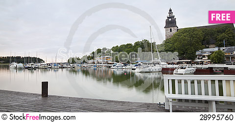 Free Naantali Invites Tourists Stock Photo - 28995760