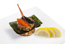 Cooked Dish Of Sea Fish Stock Images