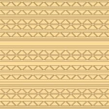 Free Seamless Pattern With Triangles Royalty Free Stock Images - 28991619