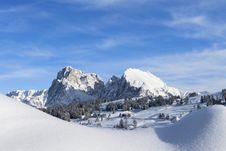Free Snow Panorama Stock Image - 28992331