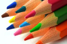 Free Colored Pencils Stock Photography - 28995632