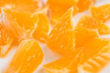Free Tangerine Chunks Royalty Free Stock Image - 28995716