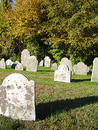 Free Autumn Graveyard Royalty Free Stock Photos - 291968