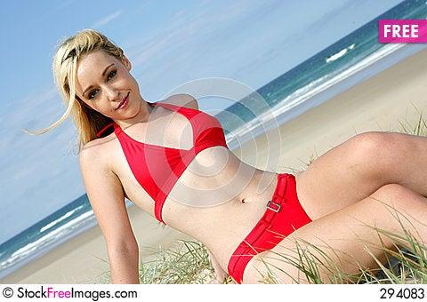 Free Hot Bikini Model Stock Photos - 294083