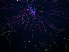 Fireworks Celebration Stock Image