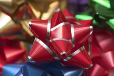 Free Christmas Bow Stock Image - 292661